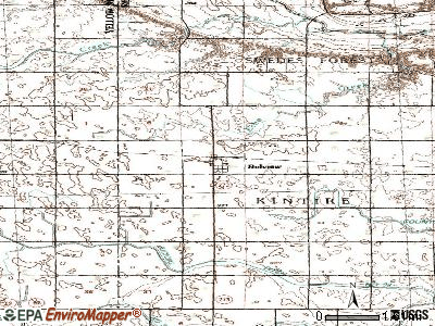 Belview topographic map