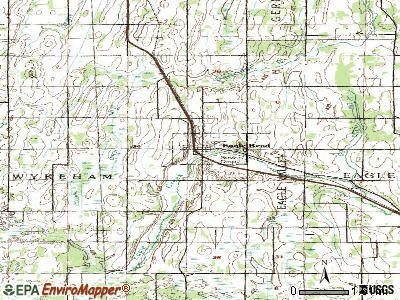 Eagle Bend topographic map