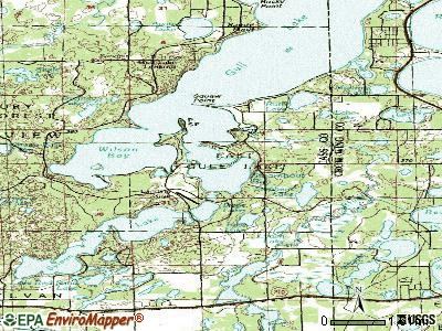 East Grand Forks topographic map