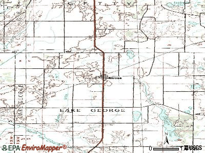 Elrosa topographic map