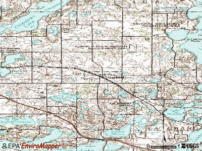 Garfield topographic map