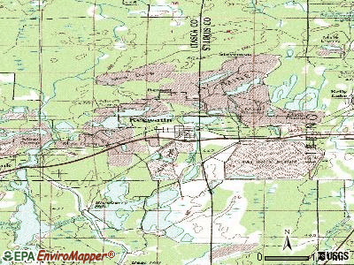 Keewatin topographic map