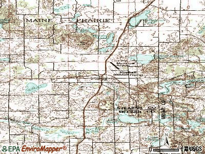 Kimball topographic map
