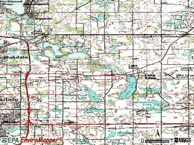 Lake Elmo topographic map
