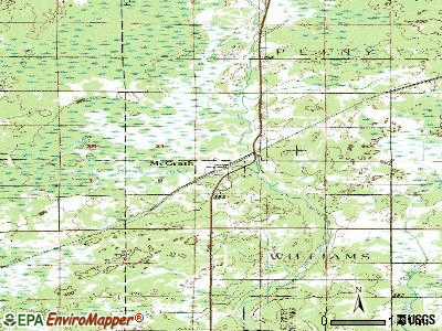 McGrath topographic map