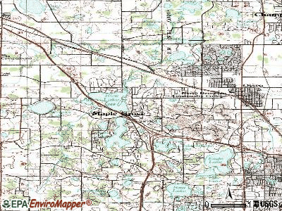 Maple Grove topographic map