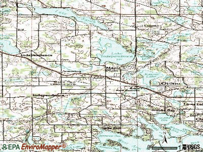Maple Plain topographic map