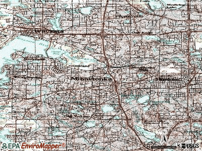 Minnetonka topographic map