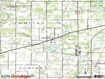 Randall topographic map