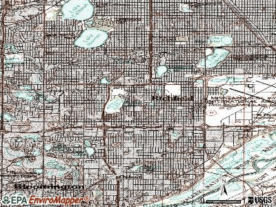Richfield topographic map