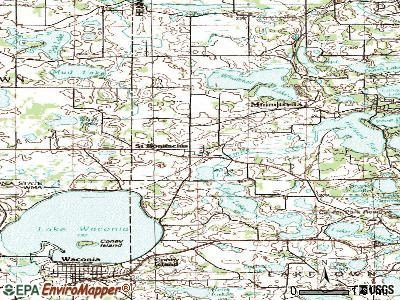 St. Bonifacius topographic map