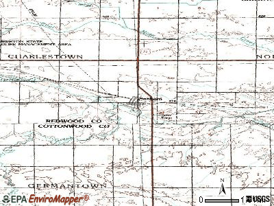 Sanborn topographic map