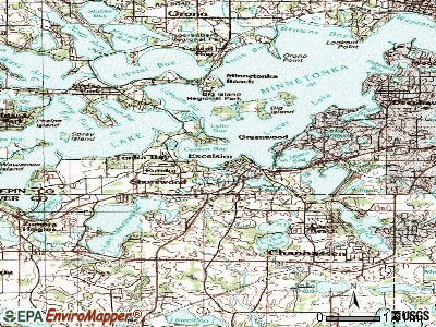 Shorewood topographic map