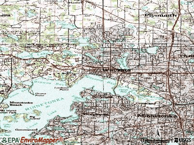 Wayzata topographic map
