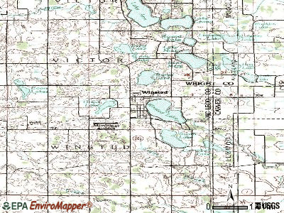 Winsted topographic map