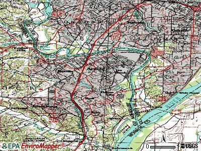 Arnold topographic map