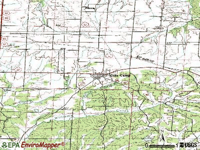 Cole Camp topographic map