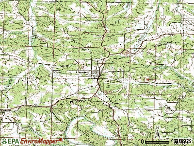 Crocker topographic map