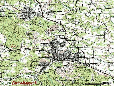 Desloge topographic map