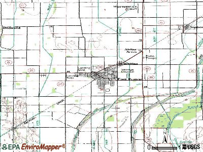 East Prairie topographic map