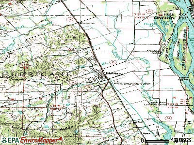 Elsberry topographic map