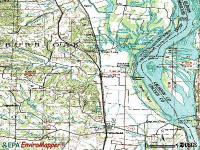 Foley topographic map