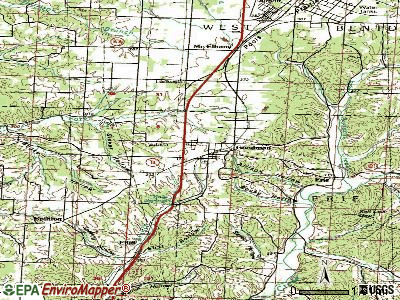 Goodman topographic map