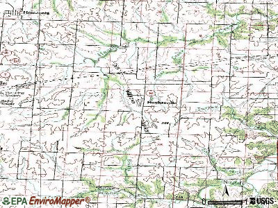 Hughesville topographic map