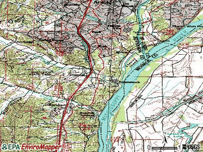 Imperial topographic map