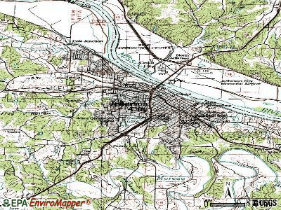 Jefferson City topographic map