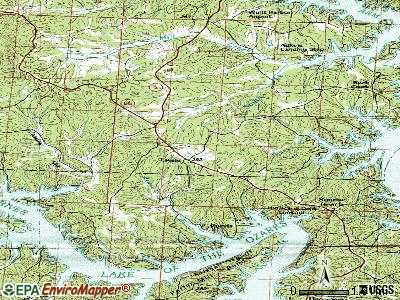Laurie topographic map