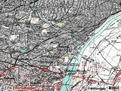 Lemay topographic map