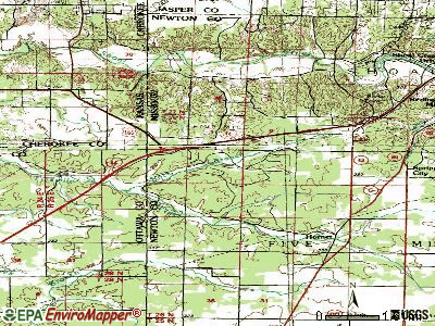 Loma Linda topographic map