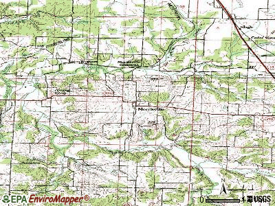 Morrisville topographic map