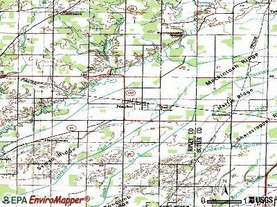 Naylor topographic map