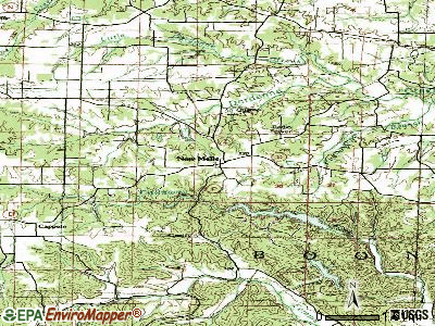 New Melle topographic map