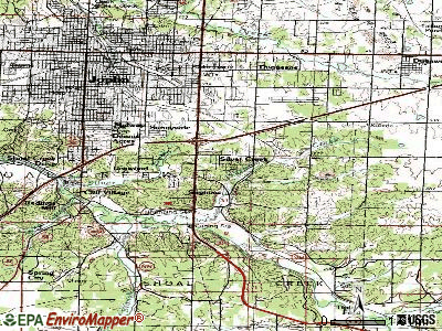 Silver Creek topographic map