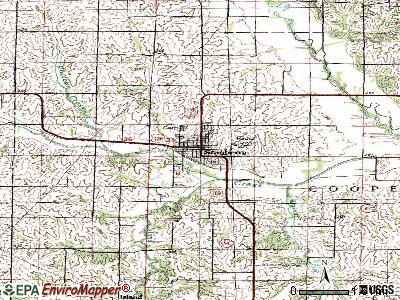 Stanberry topographic map
