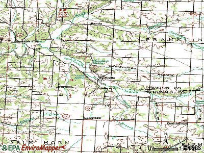 Stella topographic map