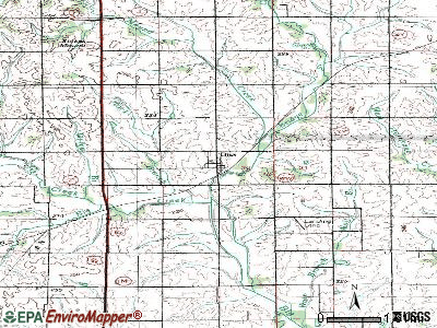 Theodosia topographic map