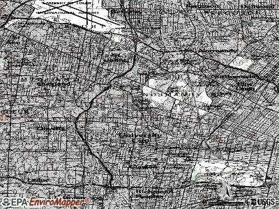 Vinita Terrace topographic map