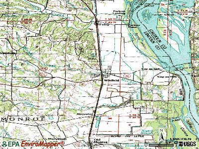 Winfield topographic map