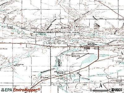 Beaver Creek topographic map