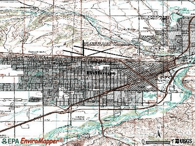 Billings topographic map