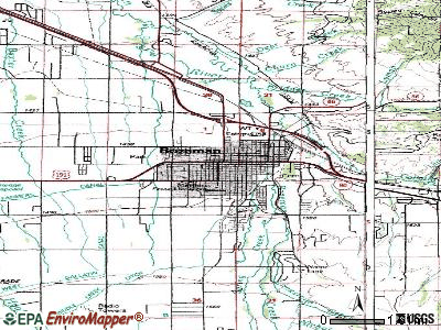 Bozeman topographic map