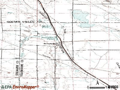 Broadview topographic map