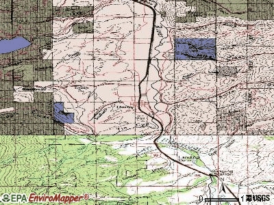 Darby topographic map