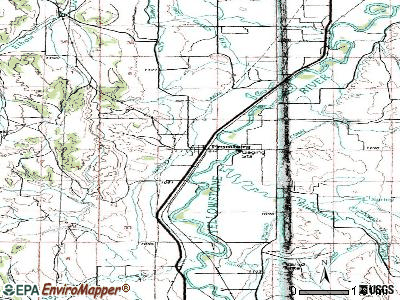 Fromberg topographic map