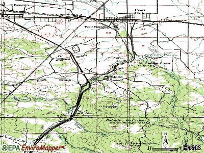 Montana City topographic map
