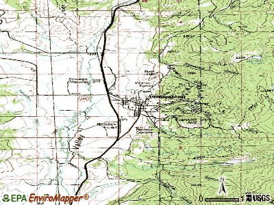 Philipsburg topographic map